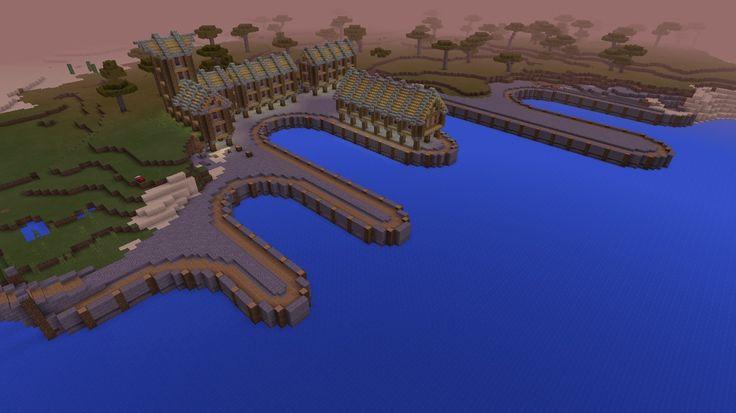 minecraft cool build port idea