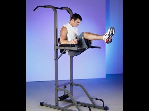 Pull Up and Dip Station - Xmark Power Tower Review #workout #fitness #homegym