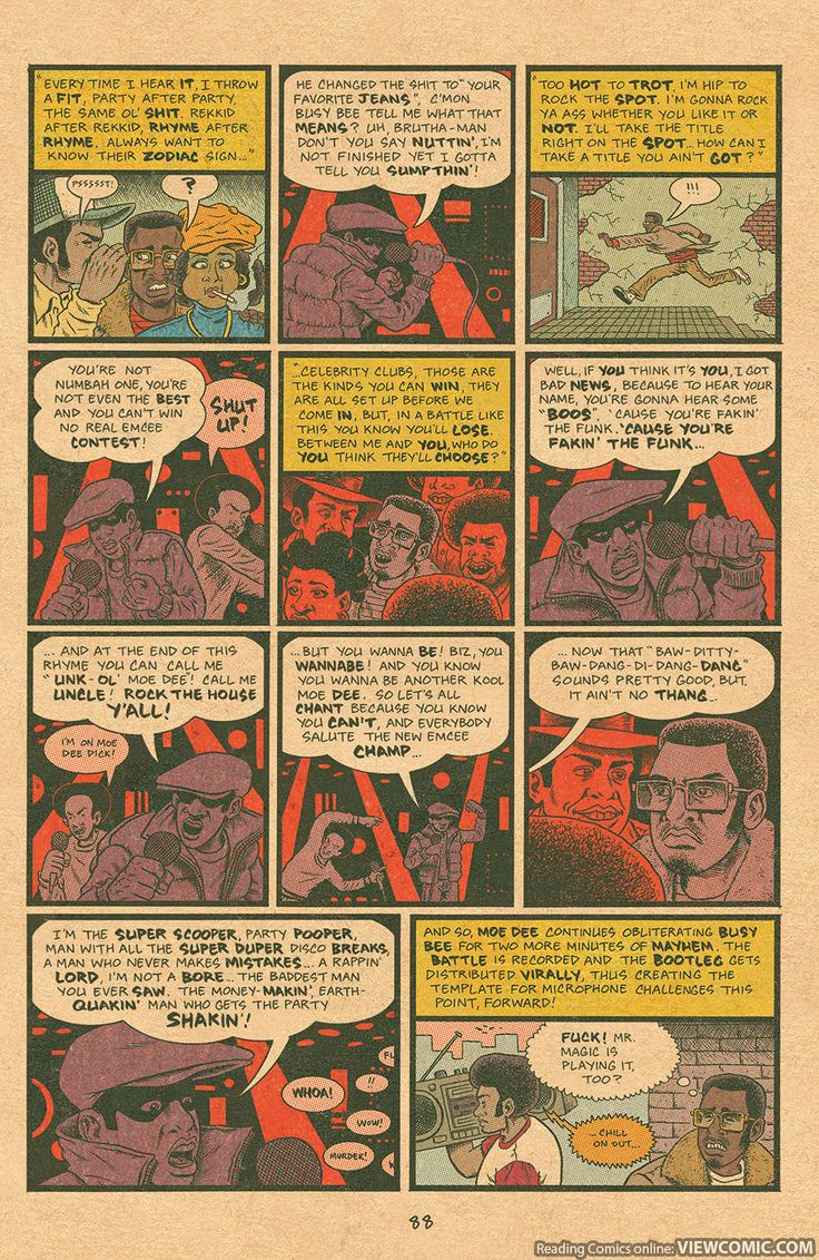 Free Comic Book Day 2015 – Hip Hop Family Tree Three-in-One – Featuring Cosplayers | Viewcomic reading comics online for free