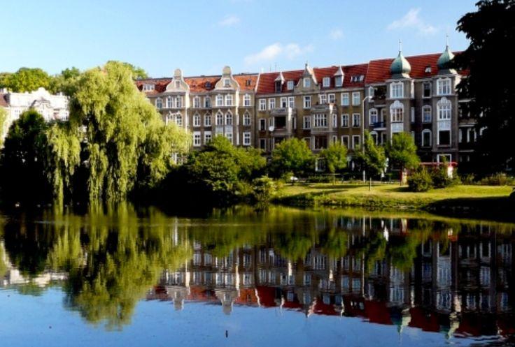 Park Kasprowicza in Szczecin-Poland
