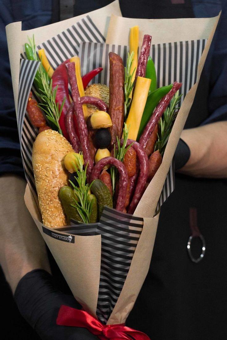 Букеты для мужчин картинки из еды