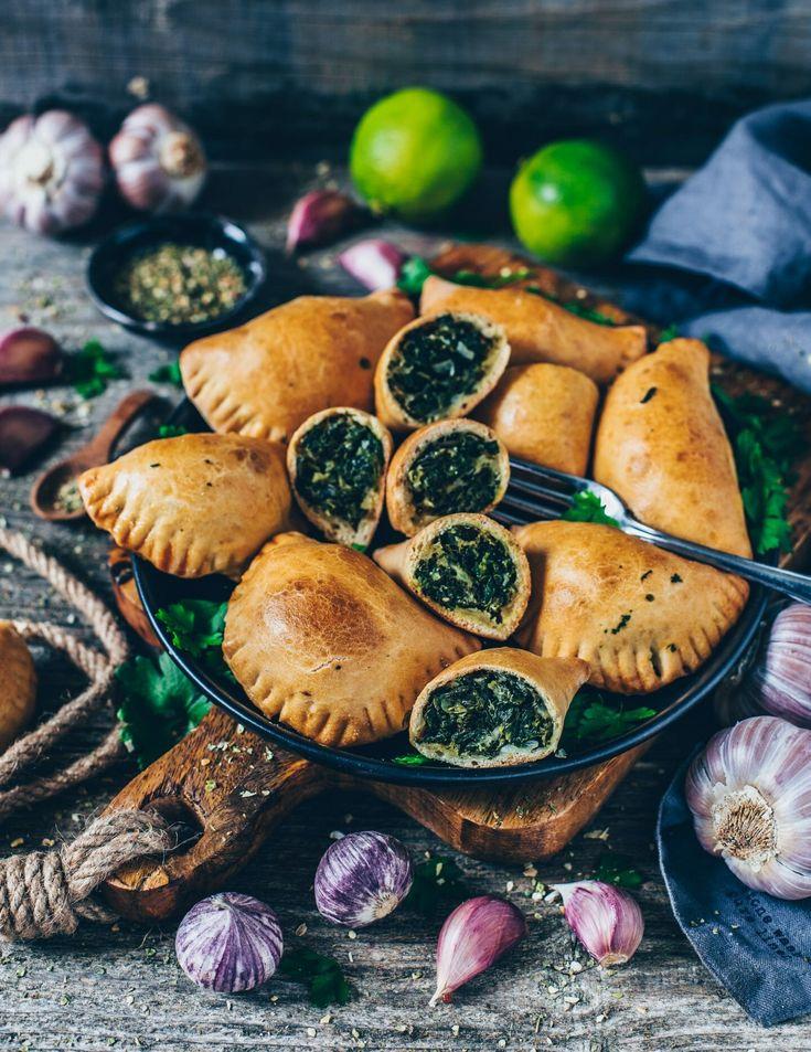Empanadas mit Spinat (vegan)   – Kochen