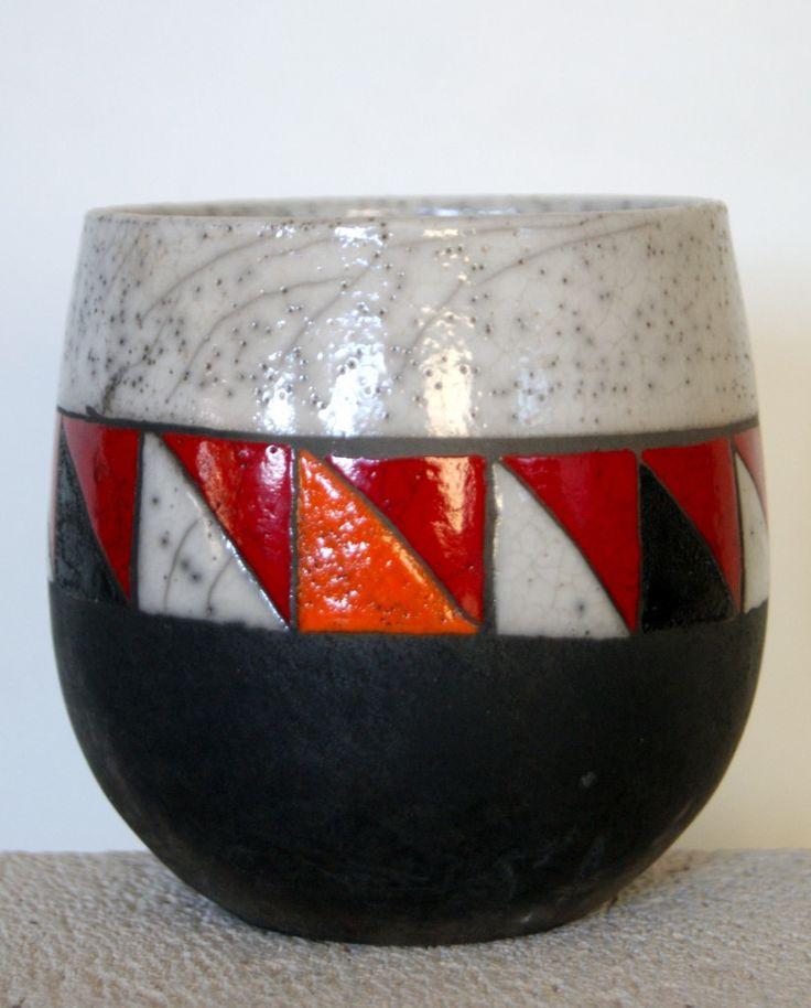 406 best Raku images on Pinterest Raku pottery, Ceramic art and - k chenr ckwand glas motiv