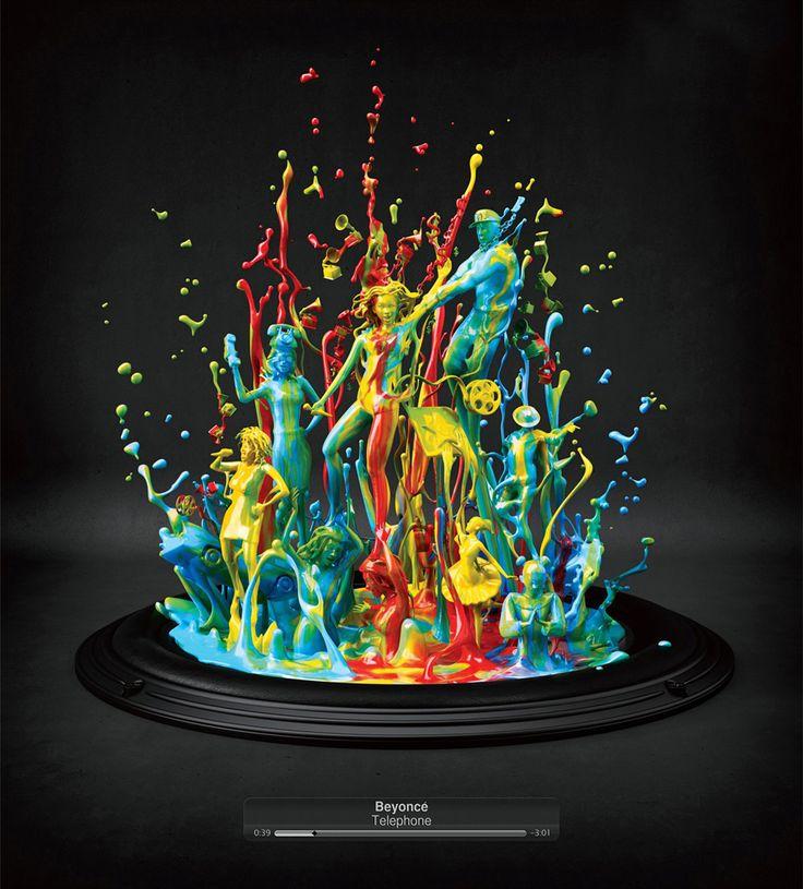 Dança das cores