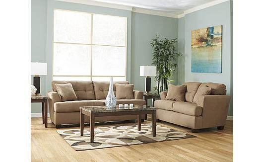 Living Room Ideas Mocha sofa, ahsley furnature,$1000 this sofa is for the living room and