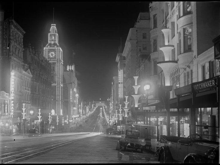 Bourke Street 1934