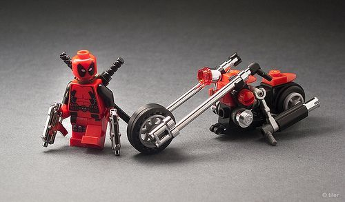 Deadpool Custom Motorcycle