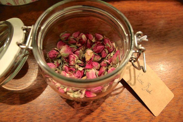 Rose bud tea at Hattie's Baslow www.hattiesbaslow.co.uk