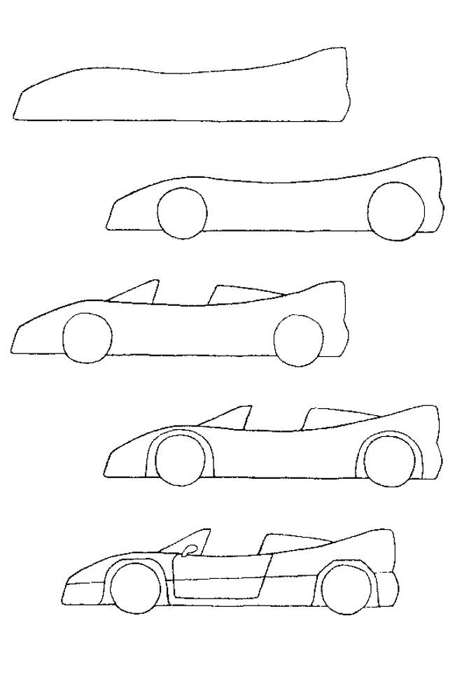 draw a car -Ein Auto #zeichnen #elementarydrawing