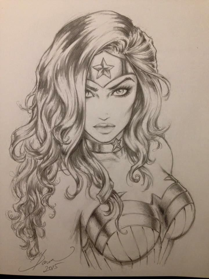 Wonder Woman by Dawn McTeigue *