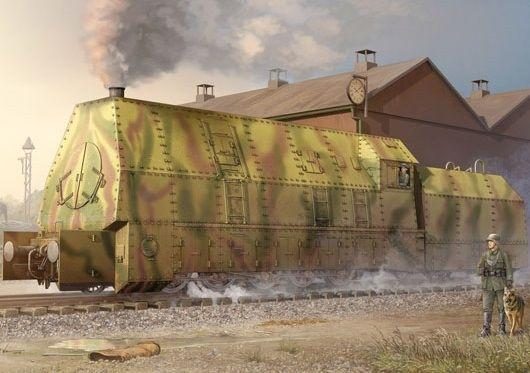 Trumpeter 00219 German Panzerlok Baureine 57