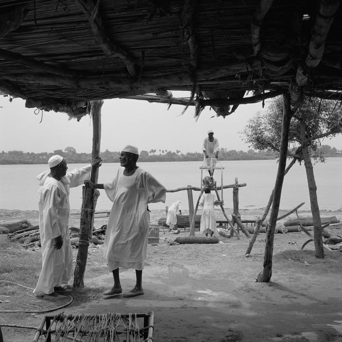 1997 Sudan Boat Builders On The Banks Of The River Nile