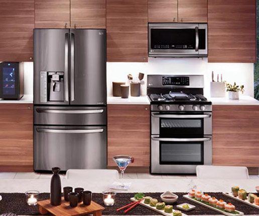 Black Stainless Steel Kitchen Appliances: 8 Best St. Tropez French Terra Cotta Tile Flooring Images