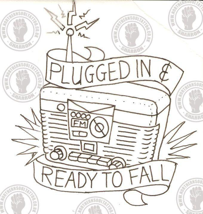 alkaline trio radio tattoo - Google Search