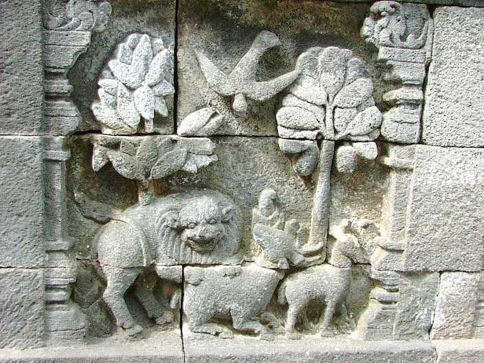 Amazing Story of  Borobudur Temple Reliefs Animals