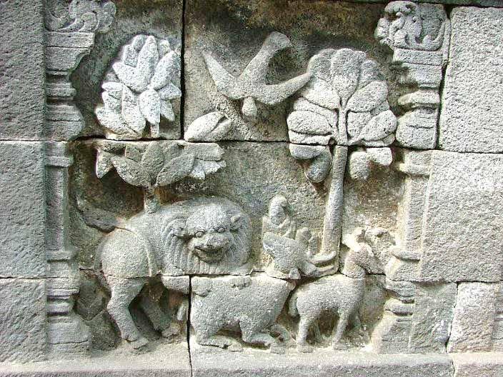 Amazing Story of  Borobudur Temple Reliefs Animals