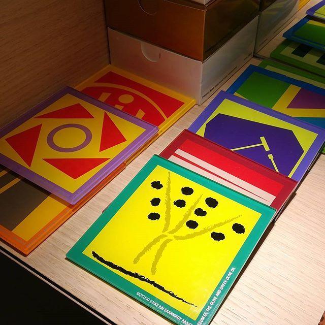 #plexiglass #coaster #coasters #sousverre #tableware #artdelatable #madeingreece #greekdesigners #piraeusbank #cultural #foundation #museum #museumlife #silkscreen #screenprint #lasercut #greece #souvenir #memorabilia #instagram #instamuseum
