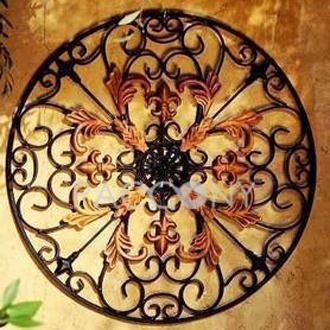 http://www.paccony.com/Wall-Decor-846/ Wall Hanging Décor with Wrought Iron
