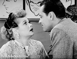 """30. """"Hollywood at Last"""" (aka """"LA at Last""""), I Love Lucy (1955). I Love Lucy was a pioneer in the use of celebrity guests, and """"Hollywood at Last"""" was the first of dozens of Lucille Ball sitcom episodes with film and TV stars appearing as themselves. They make for a strange dynamic in that Ball, one of the most powerful women in Hollywood and a no-nonsense perfectionist on the set, almost invariably played her character as a starstruck """"ordinary person"""" bowing and scraping before her idols."""