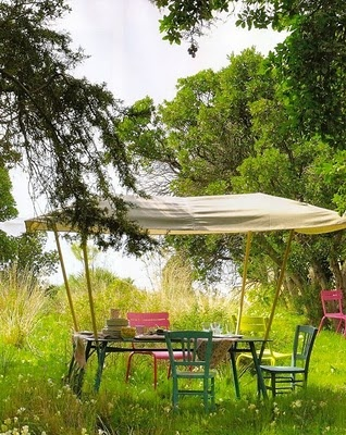 sweetSummer Gardens, Al Fresco Dining, Outdoor Living, Gardens Design Ideas, Garden Parties, Parties Ideas, Gardens Dining, Gardens Parties, Canopies