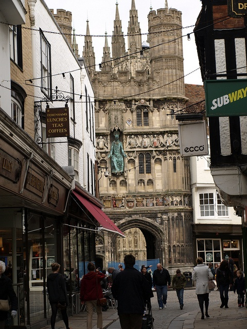 Canterbury city centre, Kent, UK by Sweppy, via Flickr