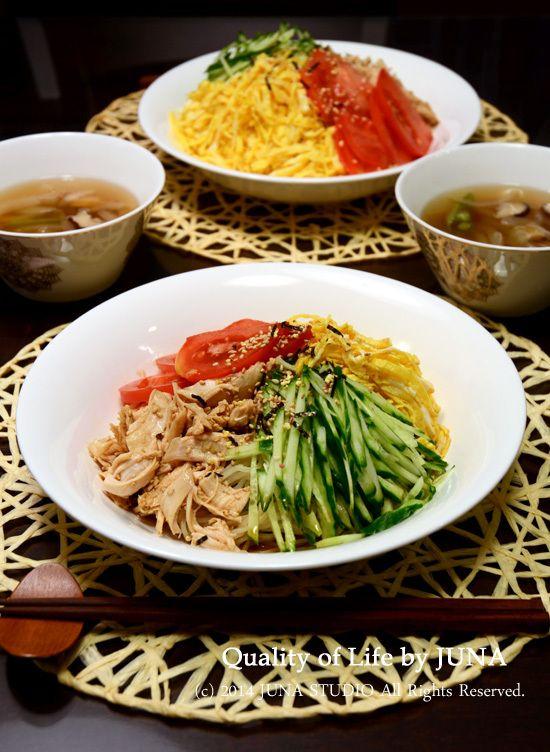 JUNA『冷やし中華&スープ』