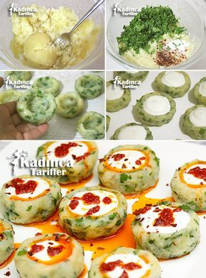 YOĞURTLU PATATES MANTISI TARİFİ http://kadincatarifler.com/yogurtlu-patates-mantisi-tarifi