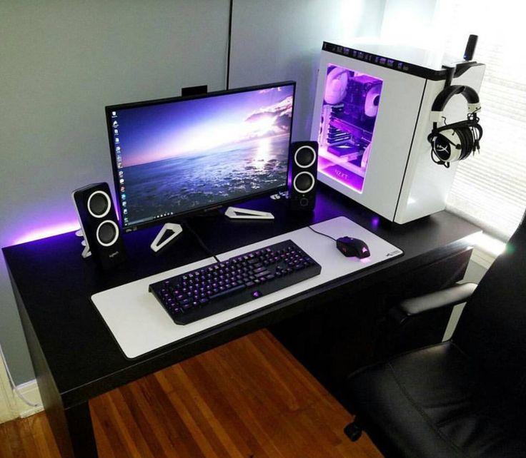 computers set up