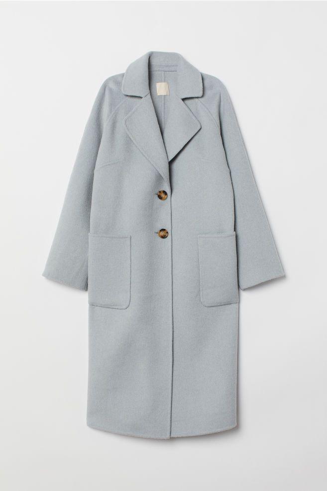 Modest Wool Boots 2019Styrofoam Coat Blend In Mouse jRA534Lq