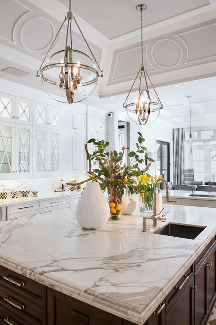 Dream Kitchens White 217 Best Luxury Kitchens Images On Pinterest  Luxury Kitchens