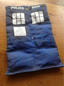 Tardis Wheatie Bag - Sewing Project