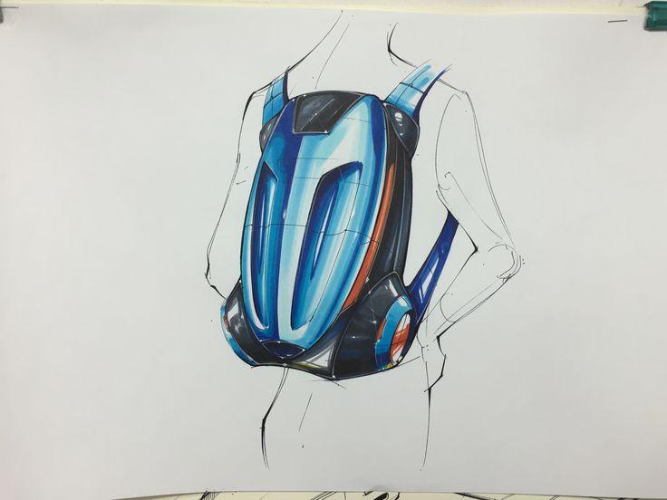 Back pack sketch