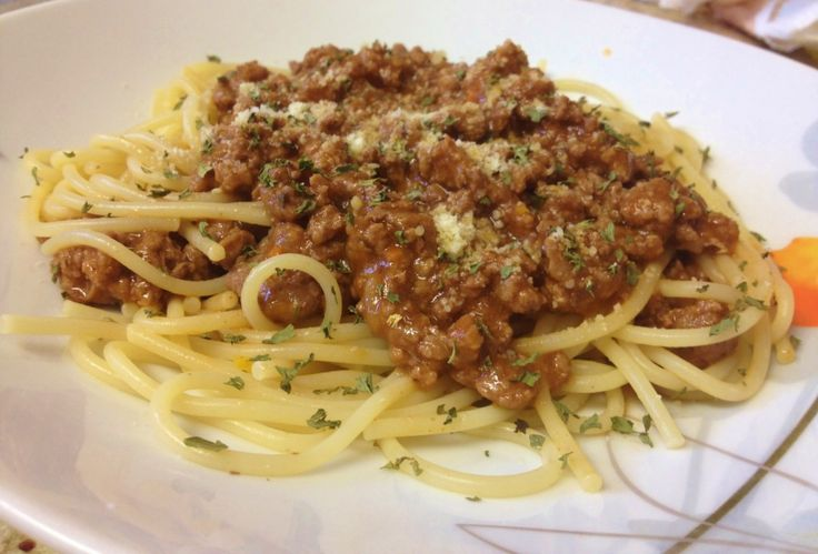 Good things take time – that's probably what describes a delicious Spaghetti Bolognese the best. Description from hungrylittlegirl.com. I searched for this on bing.com/images