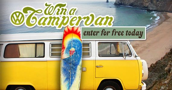 DON'T MISS THIS! #RePin and Go #Win a VW #Campervan! #drive #vehicle #competition