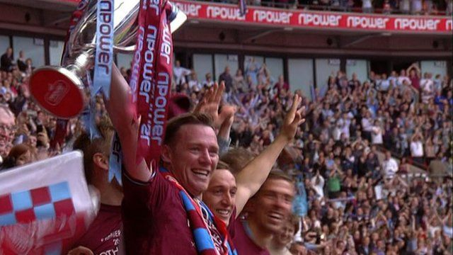 West Ham join Reading and Southampton in the Premier League after beating Blackpool 2:1 at Wembley.