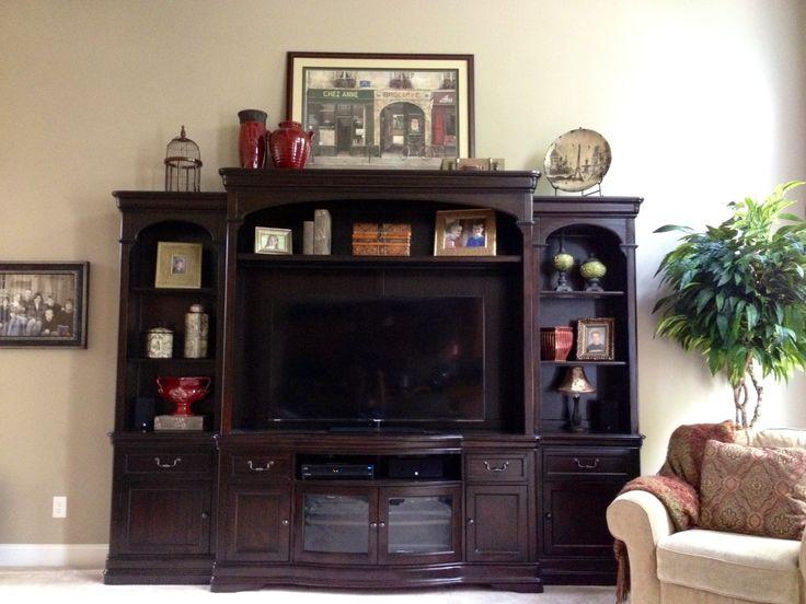 entertainment center decor bird cage decorating. Black Bedroom Furniture Sets. Home Design Ideas