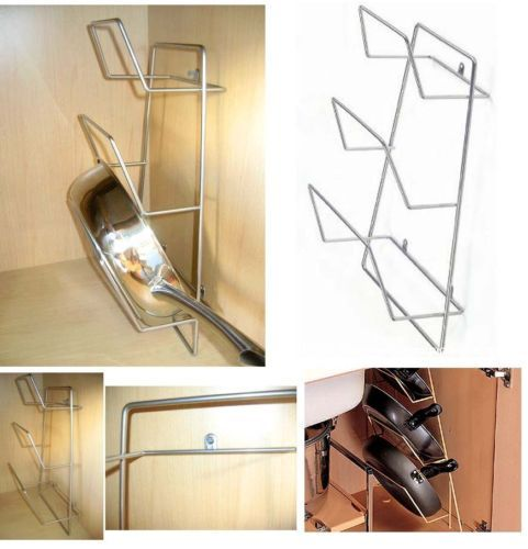 under kitchen sink pan details about new steel wire wall mounted fry pan organize 6552