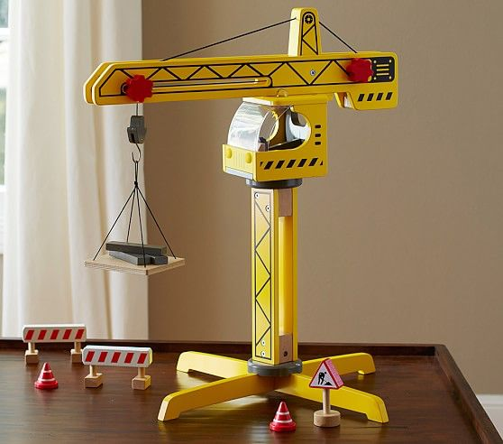 Construction Crane Pottery Barn Kids Construction Toys