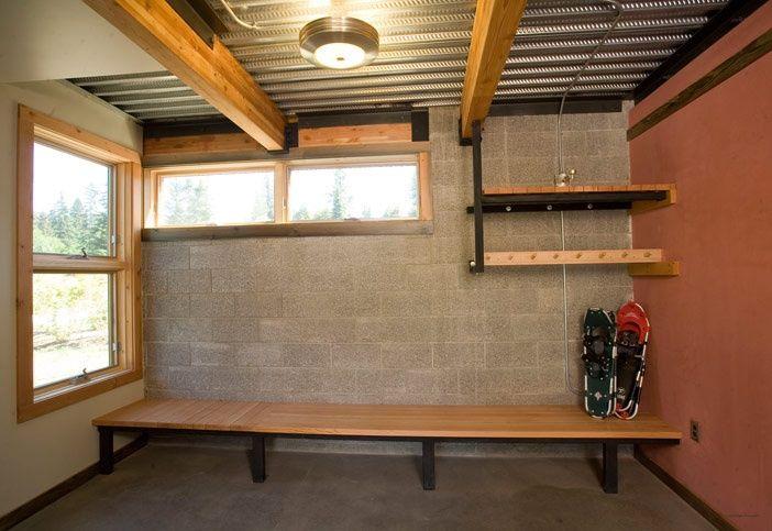 Elegant Safe Room In Basement