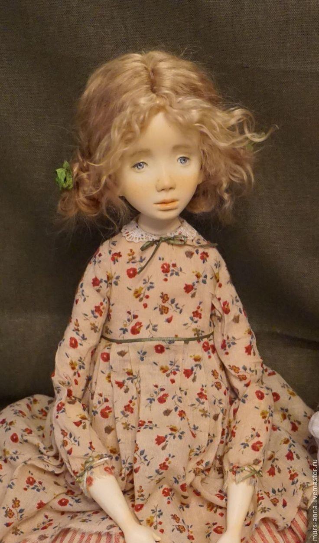 Купить Паулина.Коллекционная авторская кукла. - кукла ручной работы, единственный экземпляр, кукла в подарок