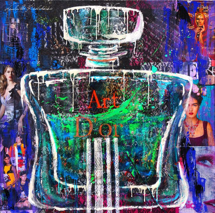 """Art D'Or 80x80 Collage&Acrilic on Canvas Serie """"FullArt Couture"""" 2014"""