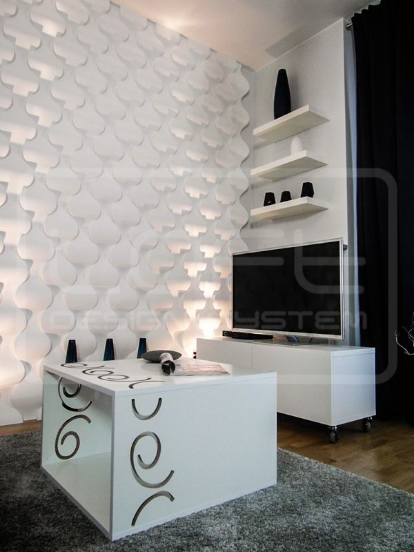 Rain Drops - model 16 - teen's room. Click at the photo to get more information or to visit our website.  #LoftDesignSystem #loftsystem #Decorativepanels #Inspiration #Interior #Design #wallpanels #3Ddecorativepanels #3dpanels #3dwallpanels #house #home #homedesign #Decorations #homedecorations  #raindrops