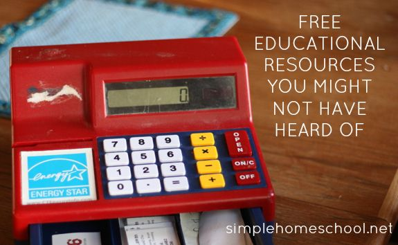 Free educational resources from simple homeschool