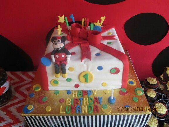 Mickeymouse cake