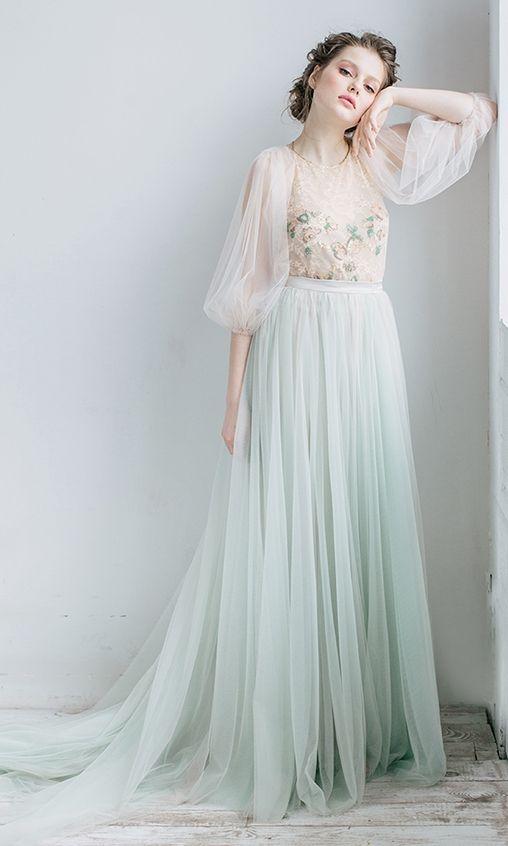 Soft Rara Avis wedding dresses