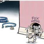 Jon Stewart and Fox News Cartoon - Cagle Cartoons