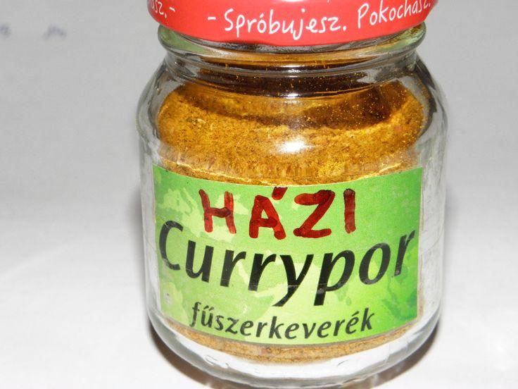 Karcsi főzdéje: Curry por házilag