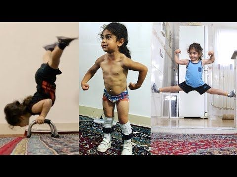 World's Strongest 3 Years Old Kid - YouTube