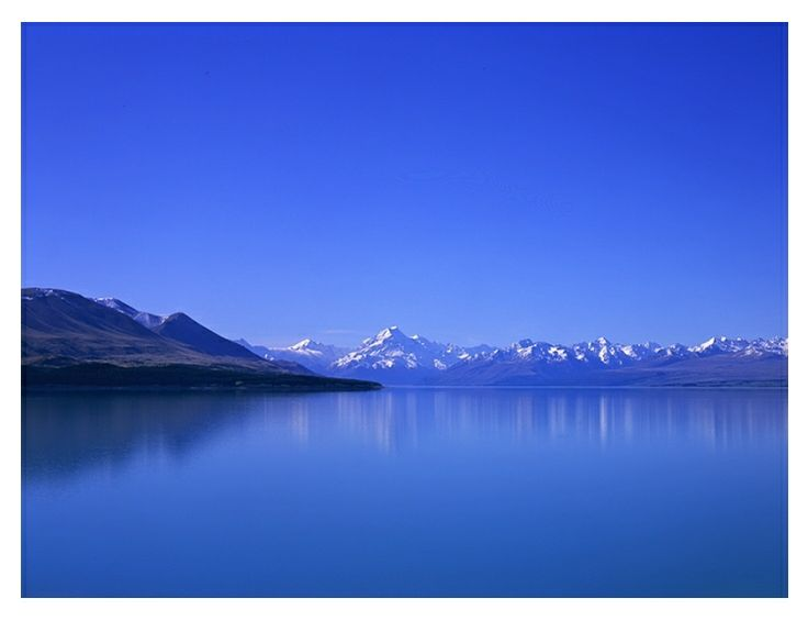 The Southern Alps from Lake Pukaki.