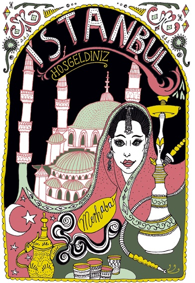 """Istanbul"" - Illustration"